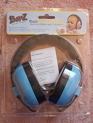 Baby Banz Ear Defenders Kids Headphones Noise Cancelling