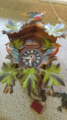 Antique W/ Germany Cuckoo Clock Parts Only