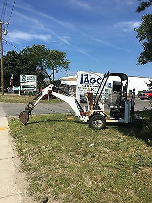 Go for digger towable back hoe