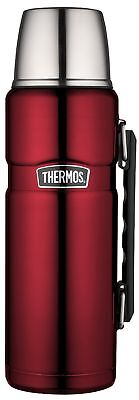 Thermos Stainless King 40 Ounce Beverage Bottle Cranberry Cranberry 1