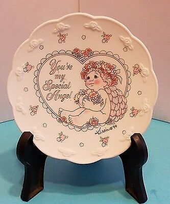 "Rare Dreamsicles Gift Collection Plate ""You're My Special Angel"" Kristin 1994"