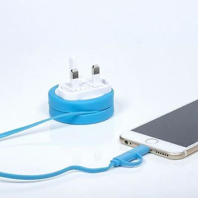 Thumbs Up Yoyo 2 in 1 CARGADOR IPHONE IPAD IPOD LIGHTNING & micro usb