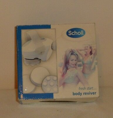 Scholl Body Reviver New In Box.  Battery Operated