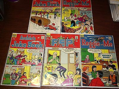 Lot of 27 Archie Titles (1960's-1970's). High Grades. One Owner Books