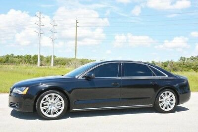 2012 Audi A8 Base Sedan 4-Door 2012 A8 L 4.2 - OVER $118K NEW - RARE EXECUTIVE REAR SEAT PACKAGE - 1 OWNER