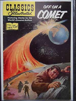 CLASSIS ILLUSTRATED #149 Off on a Comet (COVER ONLY)