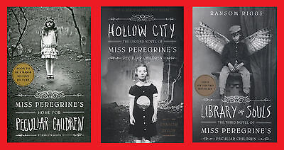 Miss Peregrine's Home for Peculiar Children Paperback Triple Pack Brand New