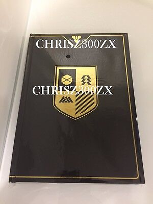 Destiny 2 Grimoire Hardcover Journal Notepad Notebook 232 Pages Bungie