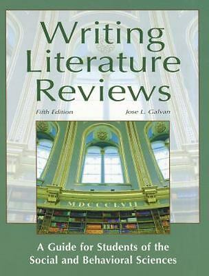 Writing Literature Reviews-5th Ed : A Guide for Students of the Social and...