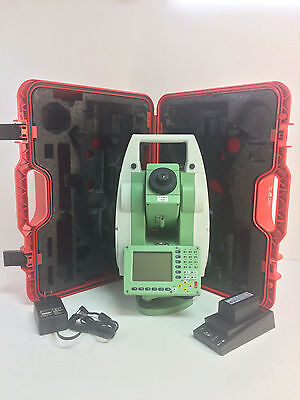 """Leica Tcr1203R300 3"""" Total Station For Surveying One Month Warranty"""