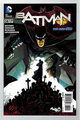 BATMAN Vol 2 #34   - The New 52  / 2014 DC Comics 1st Printing
