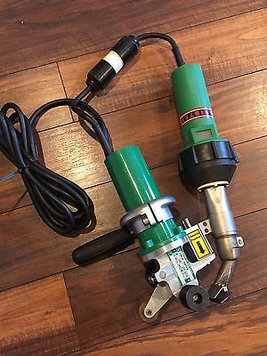 Leister Triac PID W/Drive Unit Semi-Automatic