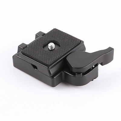 New~Quick Release Plate Clamp Adapter for Manfrotto 200PL-14 323 RC2 Tripod Hot!