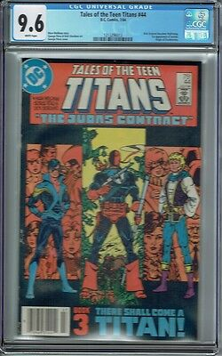 Cgc 9.6 Tales Of The New Teen Titans #44 White Pages 1St Appearance Of Nightwing