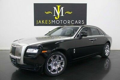2011 Rolls-Royce Ghost ($316K MSRP) 2011 Rolls-Royce Ghost, $316K MSRP! ONLY 12K MILES! BLACK ON SEASHELL, PRISTINE!