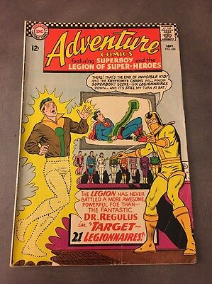 Adventure Comics #348 from DC Comics!!  1966!! Superboy and the Legion of SH!!