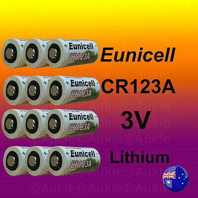 12X Eunicell CR123A Battery Netgear Arlo Security Camera VMS3330/3430/3230/3310