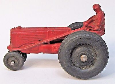 1930's to 1940's MINNEAPOLIS MOLINE Z TRACTOR red  unmarked but Auburn Rubber