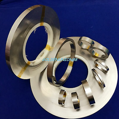 PURE nickel strip tape plate 3mm 5mm 8mm 10mm W X 0.15mm T  for battery welding