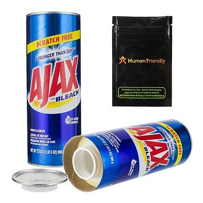 Ajax Diversion Safe Stash Can w HumanFriendly Smell-Proof Bag