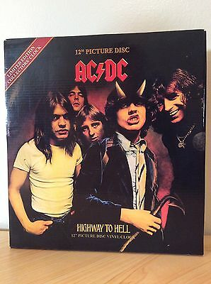 ACDC Highway To Hell vinyl clock Limited Edition Collectors