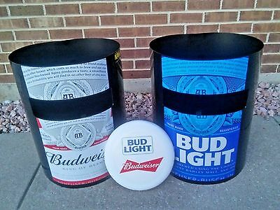 Budlight/Budwesier Kan Jam Frisbee Beer Sign Game...NIB