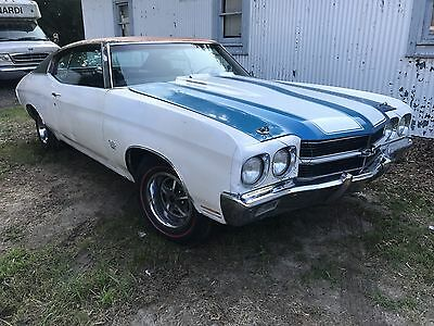 1970 Chevrolet Chevelle Super Sport SS Very Solid Build Sheet 1970 Chevelle SS Super Sport very solid 41 options Build Sheet 396 Runs project