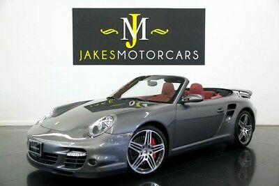 2008 Porsche 911 Turbo Cabriolet ($157K MSRP) 2008 Porsche 911 Turbo Cabriolet, $157K MSRP! ONLY 11K MILES! METEOR GREY ON RED