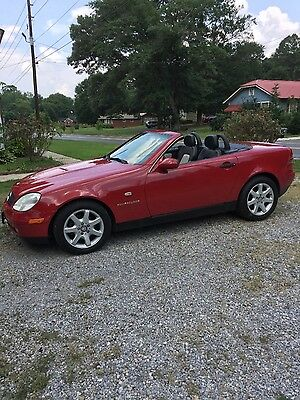1998 Mercedes-Benz SLK-Class  1998 Mercedes-Benz SLK 230 Red New Paint