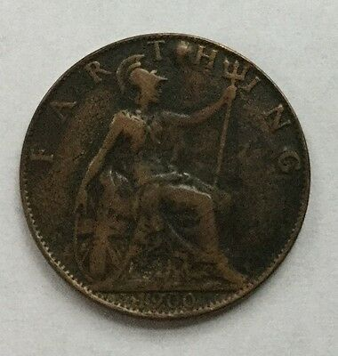 1900 Great Britain Farthing! Very High Grade!!!!!!!