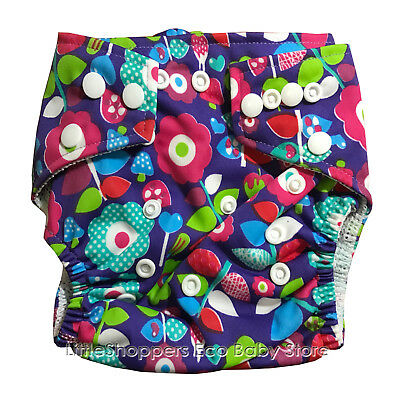 REUSABLE SWIM NAPPY Baby Swimmer NEWBORN to TODDLER Diaper Pants Nappies PURPFLO