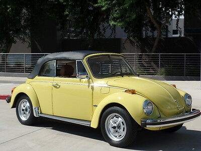 1979 Volkswagen Beetle - Classic Super Beetle All Original 3800 original miles 1979 Volkswage Beetle Convertible 3800 Original Miles!!! A MUST SEE!
