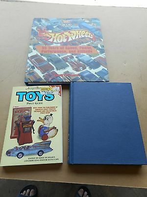 HotWheels 35 Years of speed, Miller's, Antique Traders Toys Price Guide, 3 books
