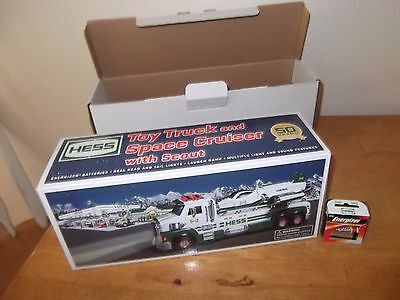 2014 Hess Collectible Toy Truck & Space Cruiser W/ Scout - Nib- 50Th Anniversary