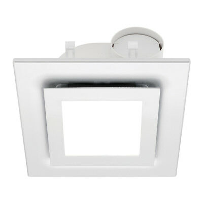 NEW Mercator Starline 295mm Square Exhaust Fan with 16W LED Light - BE170ESP