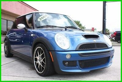 2005 Mini Cooper S SUPERCHARGED MANUAL LOADED CARFAX NO RESERVE! 2005 MINI COOPER S SUPERCHARGED FULLY LOADED CARFAX FLORIDA NO RESERVE!