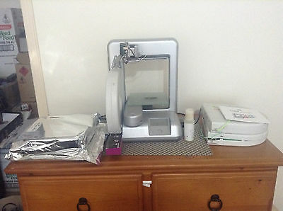 cubify cube 2 3d printer with extras