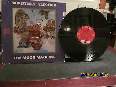 LP THE MOOG MACHINE Christmas Becomes Electric COLUMBIA RECORDS VG+