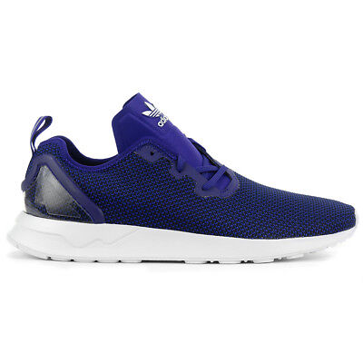 new style 6e97b 5ae92 Adidas Men s ZX Flux ADV Asymmetrical Collegiate Purple Shoes S79053 NEW!