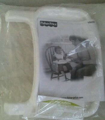 Fisher Pricer Replacement Booster White seat Tray v8638 Brand New