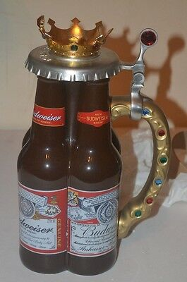 Anheuser-Busch 2001 Collectors Club Members Only stein