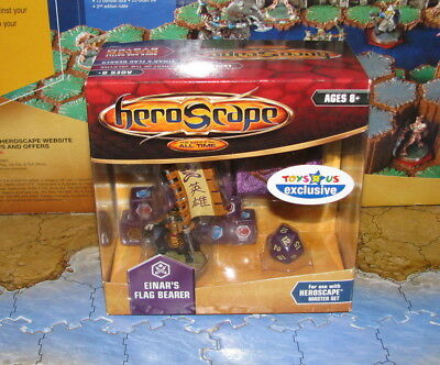NIB Hatamoto Taro Einar Flag Bearer Crest of the Valkyrie Heroscape
