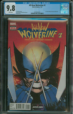 All-New Wolverine #1 CGC 9.8 1st appearance of Laura Kinney as Wolverine