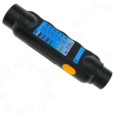 7 Pin DC 9V Car Vehicle Trailer Towing Light Cable Circuit Plug Socket Tester