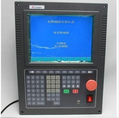 """10.4"""" LCD CNC Cutting Controller System For Flame/Plasma With Wireless Remote E"""