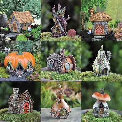 Fiddlehead Fairy Garden Miniature Micro Mini Homes Cottage Dwelling