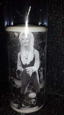 David bowie Labyrinth candle