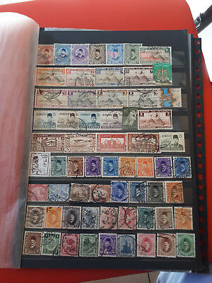 63 timbres Egypte (lot 6)