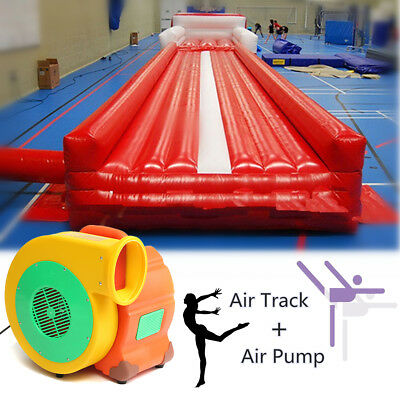 20ft 6M Inflatable Air Track Home Floor Tumble Tumbling gymnastics with end GYM