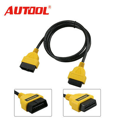 5ft OBD2 16PIN Male to Female Extension Cable Diagnostic Connector Adapter 1.5M
